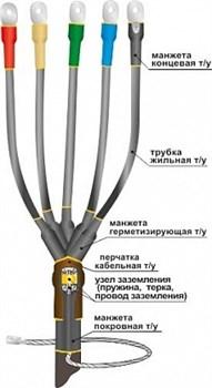 Муфта кабельная концевая 10КВТп-3х(150-240)