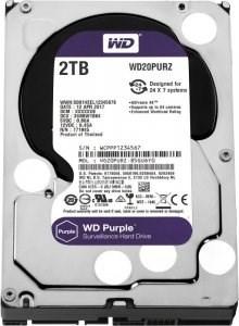"""Жесткий диск HDD WD SATA 6Tb Purple Surveillance 6Gb/s 3.5"""" 1 5400rpm 64MB 24x7, WD60PURZ"""