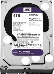 Накопитель данных типа HDD (жесткий диск) емкостью 6 ТЬ WD60PURZ Western Digital