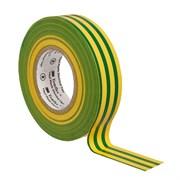 Изолента ПВХ желто-зеленая 15 мм 200м. Temflex 1300