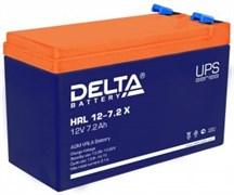 Аккумулятор  Delta HRL 12-7.2 X герметичный свинцово-кислотный