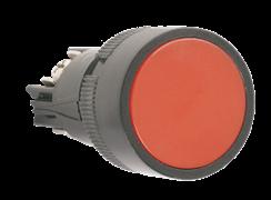 """ИЭК Кнопка """"Стоп"""" SB-7 красная 1+1 240В 22 мм (BBT40-SB7-K04)"""