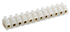 Колодка ЗВИ-6 0.75-4мм 12 пар белый