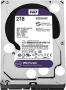 "Жесткий диск HDD WD SATA 6Tb Purple Surveillance 6Gb/s 3.5"" 1 5400rpm 64MB 24x7, WD60PURZ"