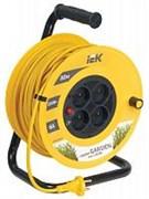 Удлинитель 30 метров УК30 на катушке с термозащитой , 4 гнезда, 2P, ПВС 2х0,75мм2, WKP23-06-04-30 IEK