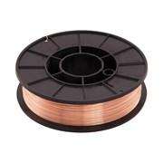 Проволока сварочная, СВ08Г2С-О, d=1,0мм, стальная, омедненная (5кг)