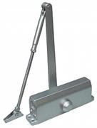 Доводчик ALDC-45S для дверей до 45кг, серебро, уп.225х75х65мм