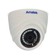 Купольная AHD камера  2Мп Amatek AC-HD202 v2 (3,6)