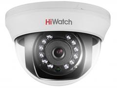 Внутренняя купольная TVI камера HiWatch DS-T101 (6 mm)