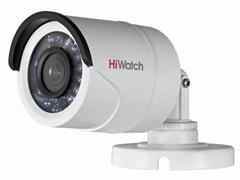 Уличная цилиндрическая HD-TVI камера HiWatch DS-T100 (2,8 mm)