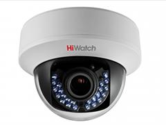Внутренняя купольная TVI камера HiWatch DS-T107 (2,8-12 mm)