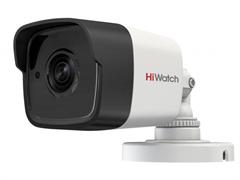 Уличная цилиндрическая HD-TVI камера HiWatch DS-T500 (2,8 mm)