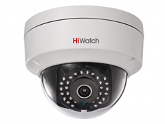 Уличная купольная антивандальная мини камера HiWatch DS-I122(4 mm)Уличная купольная антивандальная мини камера HiWatch DS-I122( 4 mm)