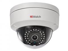 Уличная купольная антивандальная мини камера HiWatch DS-I122(6 mm)