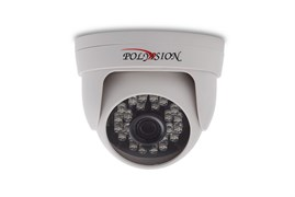 Бюджетная купольная AHD 2 Мп мини ИК-видеокамера (SC2045+XM330) с фиксированным объективом