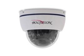 Купольная IP-видеокамера для помещений с вариофокальным объективом и аудиовходом