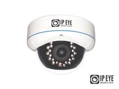 Антивандальная купольная IP камера 2Мп  с облачным сервисом IPEYE-DA2-SUPR-2.8-12-01