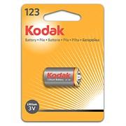 Батарейка литиевая KODAK CR123 [ K123LA] (6/12/9000)