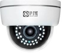 Купольная IP камера 2Мп  с облачным сервисом IPEYE-D2E-SUR-2.8-12-01