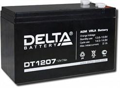 Аккумулятор герметичный свинцово-кислотный DELTA DT1207