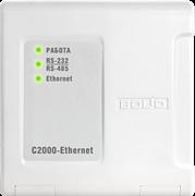 C2000-Ethernet Преобразователь интерфейса RS-232/RS-485 в Ethernet.