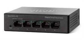 Коммутатор неуправляемый Cisco SB SG110D-05-EU