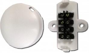 Коробка коммутационная  УК-2П с винтовым клеммником на 4 контакта, евродизайн