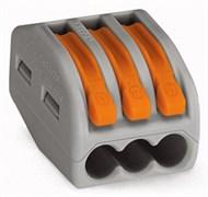 Клемма универсальная 3-проводная BLOX FJ-403 3x0.08-4/2.5 мм2