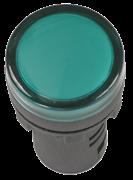 Лампа (светосигнальный индикатор) зеленого цвета 22 мм  IEK AD22DS LED