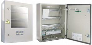 """Шкаф пожарной сигнализации Шкаф для установки приборов системы """"Орион"""" на DIN рейки с встроенным источником питания Болид ШПС-12"""