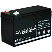 Аккумулятор герметичный свинцово-кислотный Security Force SF1207