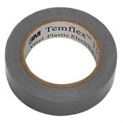 Изолента серая 15мм Temflex1300