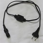 Силовой шнур для дюралайт  CORD LED-DL-2W-4A-1.5BL