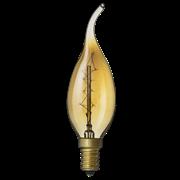 Лампа накаливания декоративная 40Вт,Е14  NAVIGATOR 71 952 NI-V-FC-C-40-230-E14-CLG