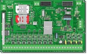 Охранно-пожарная панель  GSM  до 16 проводных ШС, до 32 радиоканальных извещателей Ритм GSM-16