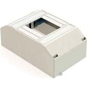 Корпус модульный навесной пластиковый на 4 автомата  IEK ЩРН-П-2/4 IP30