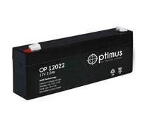 Аккумулятор герметичный свинцово-кислотный Optimus OP12022