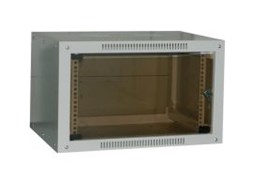 Шкаф настенный 4U серия NOP (600х450х281), разборный, серый Netko
