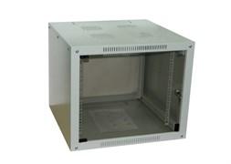 Шкаф настенный 9U серия NOP (600х600x505), разборный, серый Netko