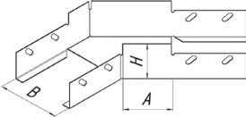 Угол плоский УП45  (1,0)150*100 УТ2,5
