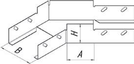 Угол плоский УП45  (1,0)300*100 УТ2,5