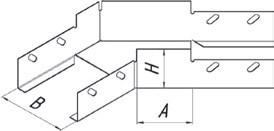Угол плоский УП45  (1,0)400*100 УТ2,5