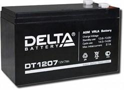 Аккумулятор герметичный свинцово-кислотный DELTA DT12045