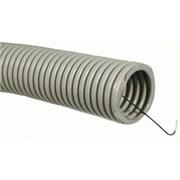 Труба ПВХ гофрир. легкая, с зондом D = 20 (100м)