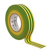 Изолента ПВХ желто-зеленая 19 мм 20 м. Temflex 1300