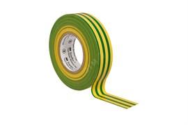 Изолента ПВХ 3M Temflex 1300 желто-зеленая 19мм х 20 м