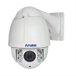 Поворотная уличная AHD камера Amatek AC-A135PTZ10H