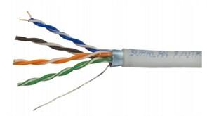 Eletec UTP 6 Eletec 4x2xAWG23, кабель( 305м), медь