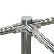 PERCo-BH02 0-10 Патрубок прямой для крепления поручней (металл)