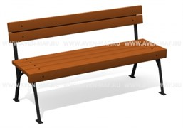 скамейка  С-52 1460х595х800мм